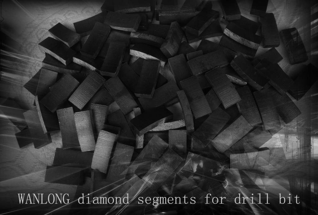 Granite Cutting Diamond Tools Diamond Segments for Slab and Block Cutting