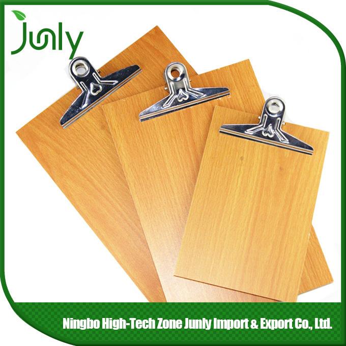 MDF Wooden Popular Vintage A4 Clipboard Office Supply