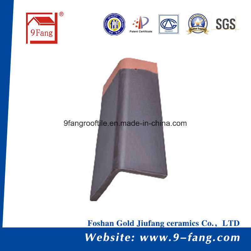 310*340mm Clay Flat Roof Tile Roof Building Material Factory Supplier Guangdong