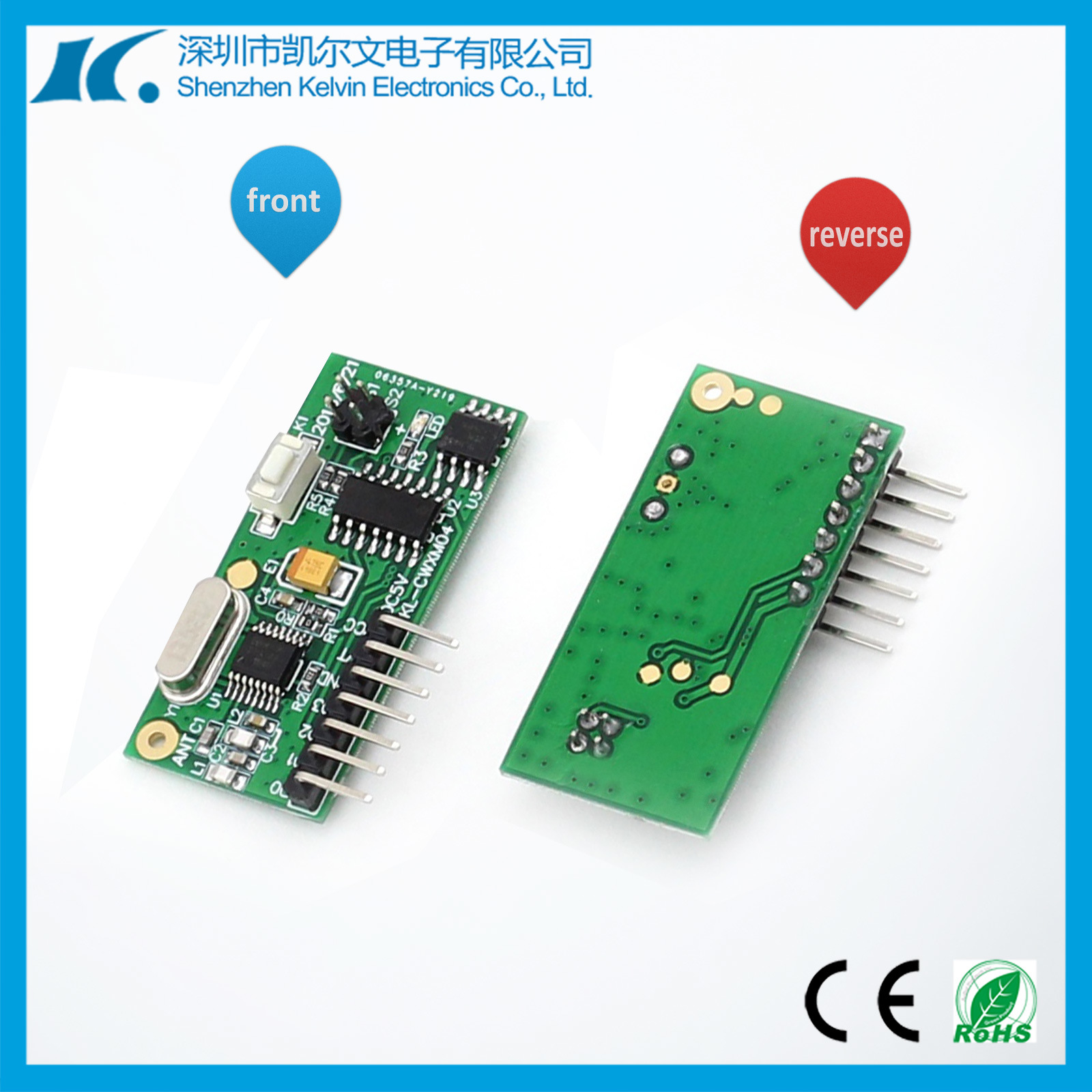 Super Heterodyne High Sensitivity RF Receiver Module Kl-Cwxm04