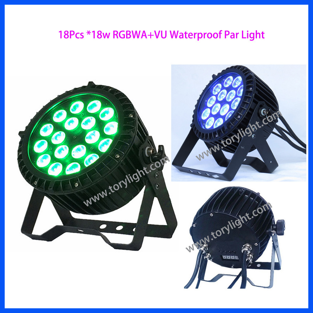 LED Stage Disco Lighting IP65 Outdoor PAR 18PCS*18W Light