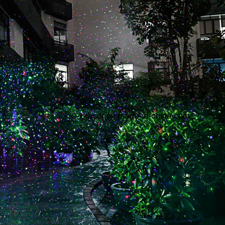 RGB Star Christmas Laser Projector Shower Light