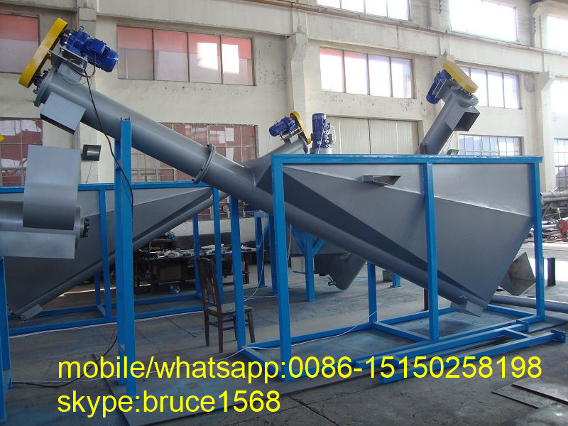 Waste Pet Bottle Crushing Recycling Machine