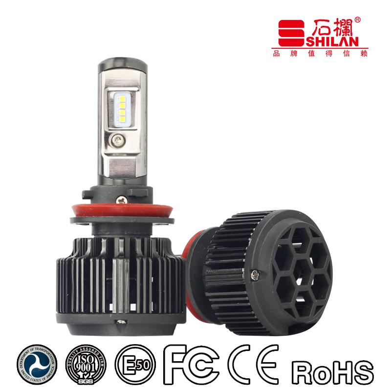 Good Quality Auto Light T6 H11 LED Car Light Bulbs