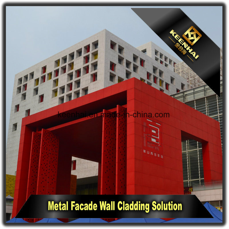 Exterior Metal Aluminum Facade Decorative Wall Cladding