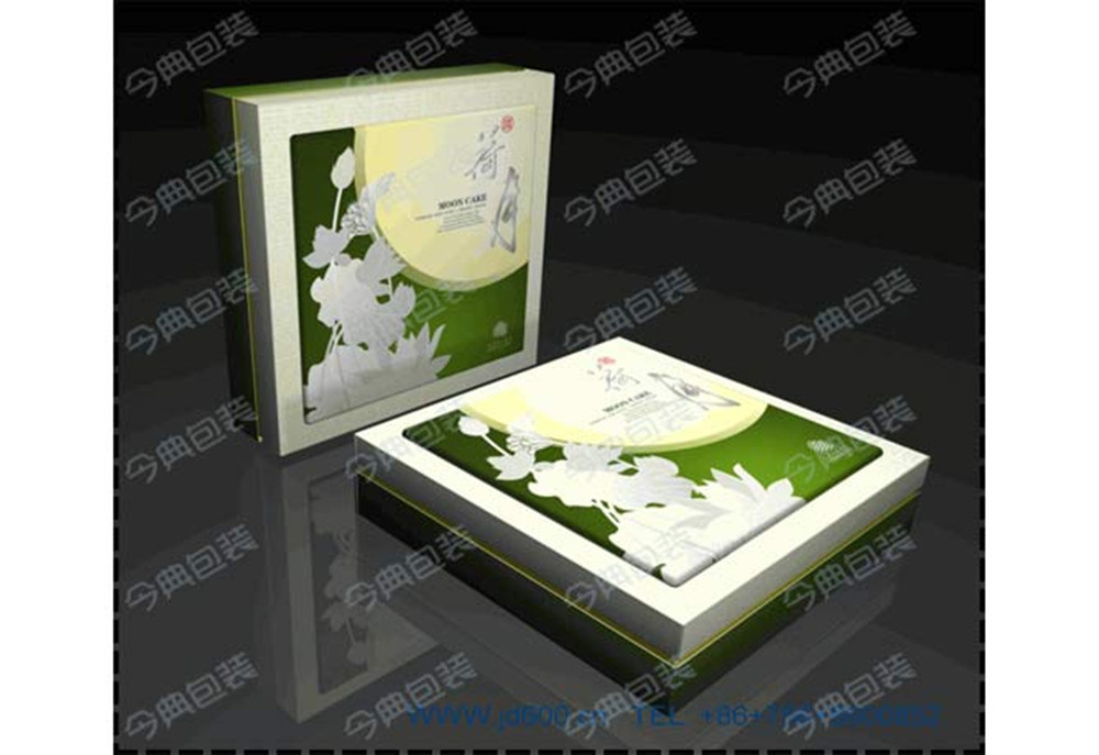 Wholesale Cardboard Paper Moon Cake Box/Food Gift Box Packaging