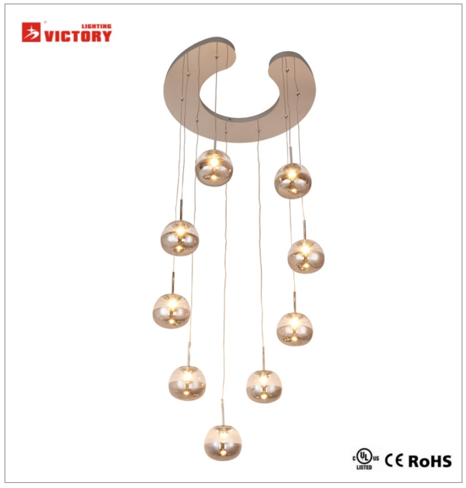 Modern Commercial Lighting LED Chandelier Pendant Light with Ce