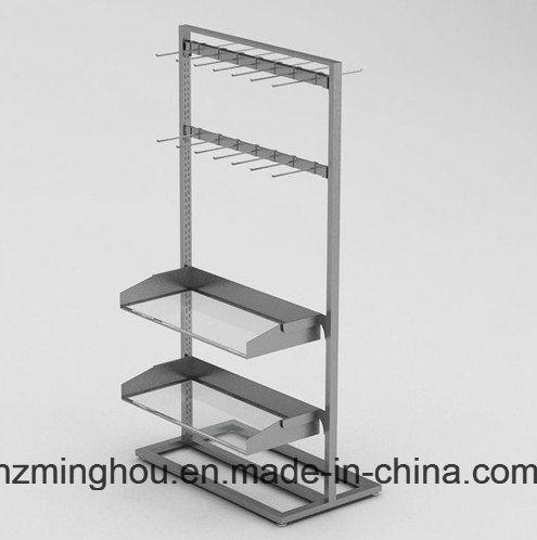 Practical Supermaket Metal Display Rack for Food Display Shelf