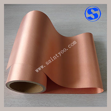Plain Weave Copper Coated Conductive Fabric