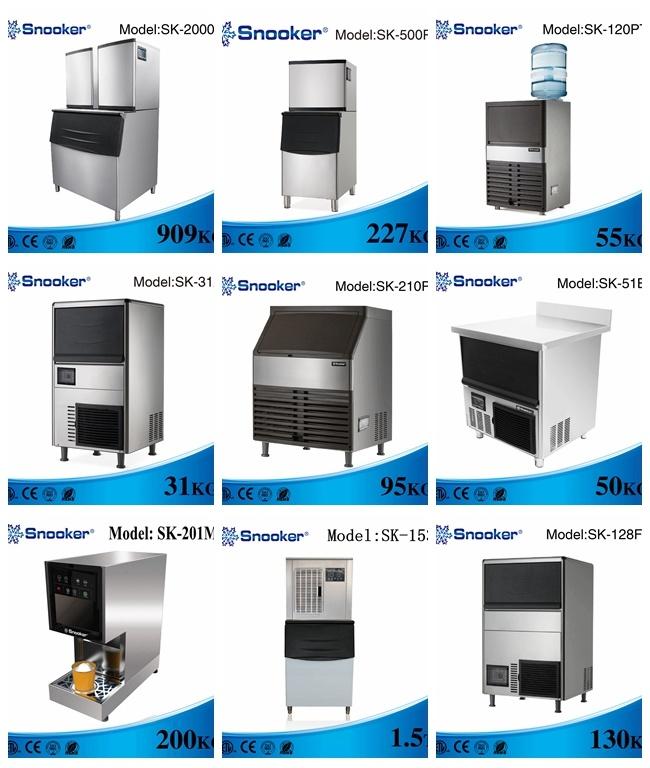 500kg Energy-Saving Sk-1000p Commercial Ice Machine Ice Making Machine