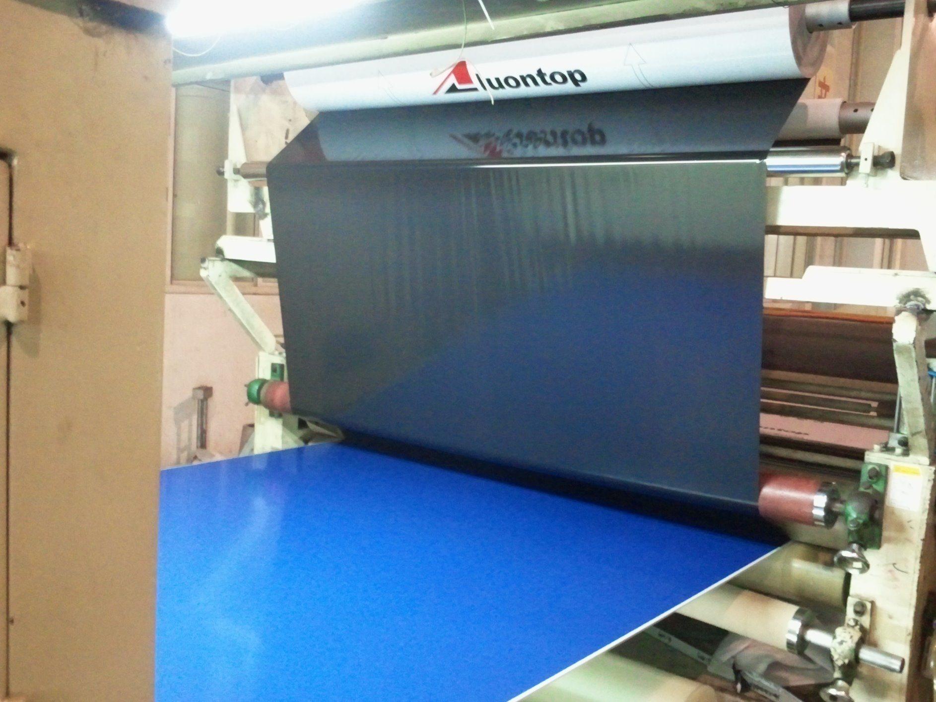 Aluminum Composite Material in Lamination Process
