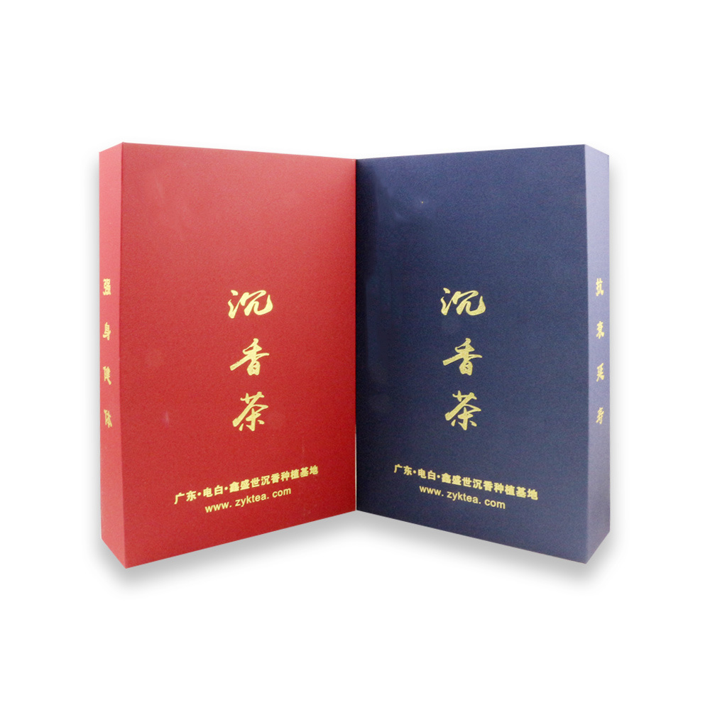 Full Color Foil Stamping Custom Paper Packaging Box