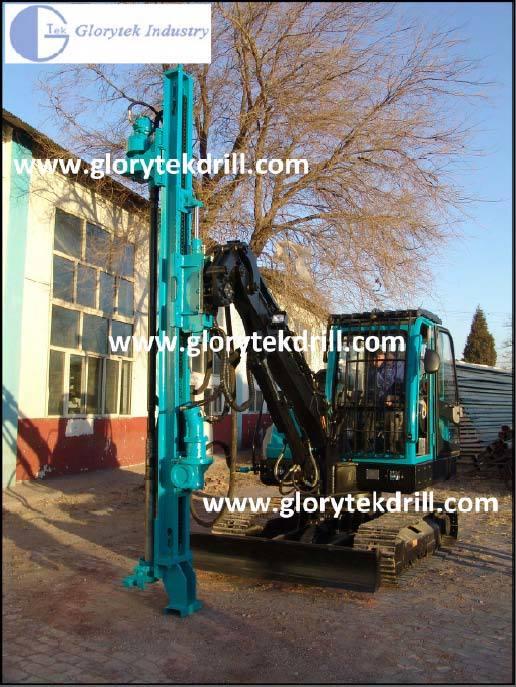 30m Multi-Fuctional Crawler Type Rock Drilling Machine (GL120YW)