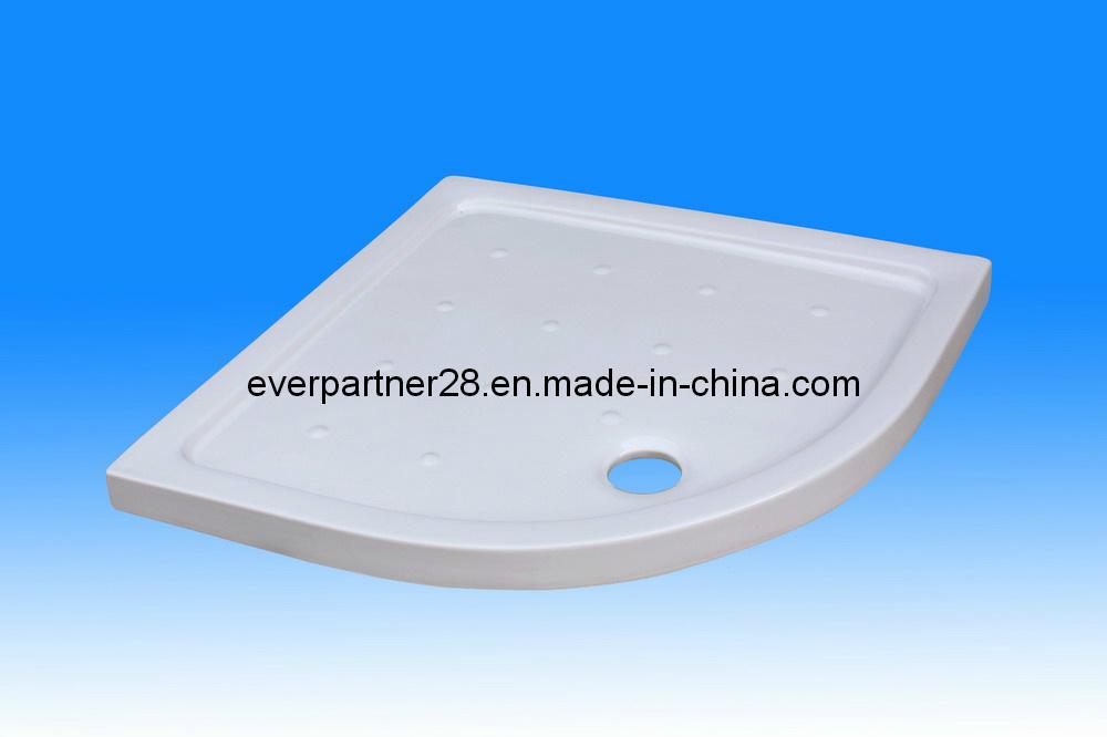 Semi-Arc Ceramic Shower Tray, Ceramic Shower Plate, Sector Ceramic Shower Basin