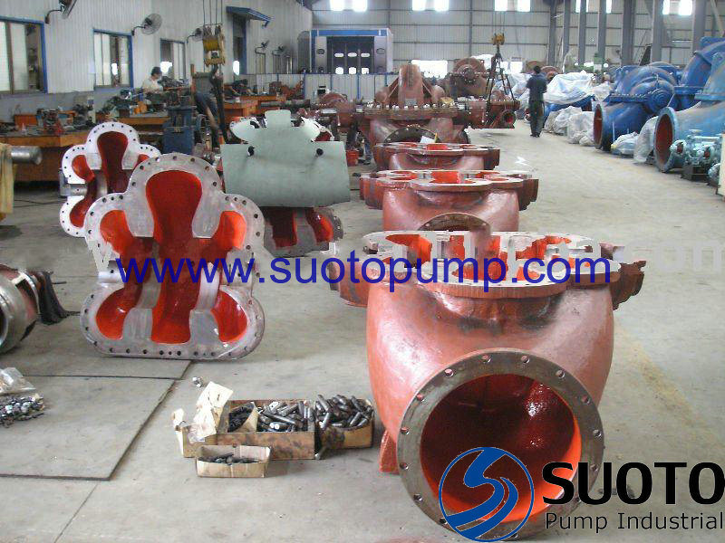 Single Stage Double Suction Split Casing (Case) Pump