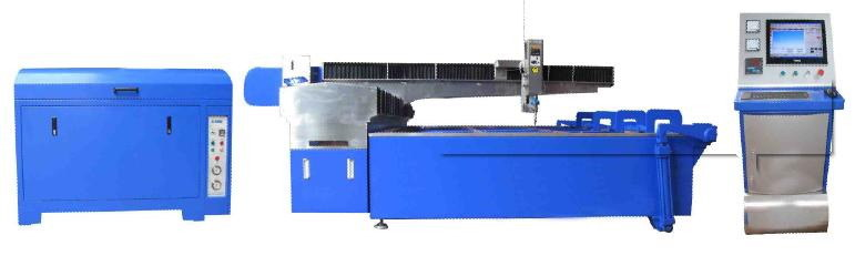 CNC Water Jet Machine (MPA420 Waterjet with KMT Intensifier)