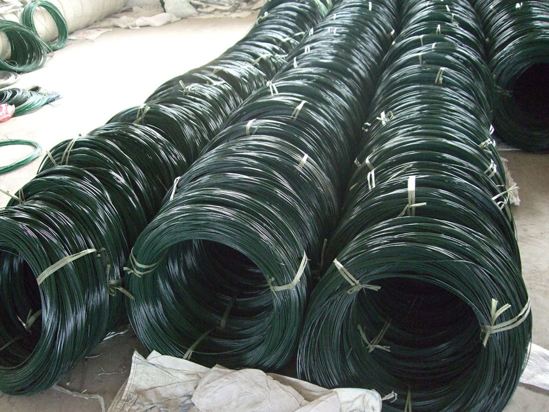 China pvc coated wire