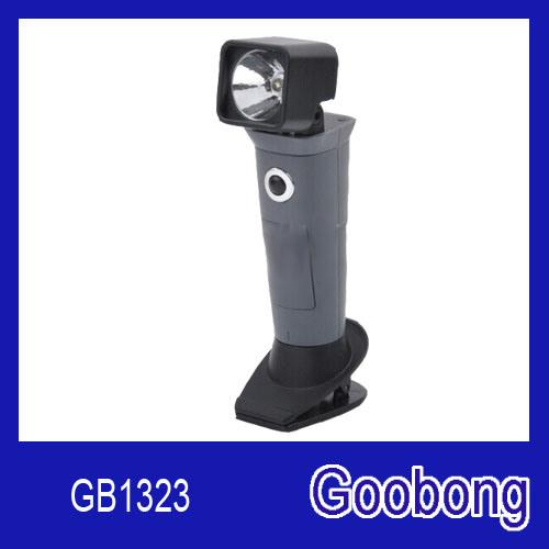 LED 360 Degree Rotatable Clip Flashlight Work Light