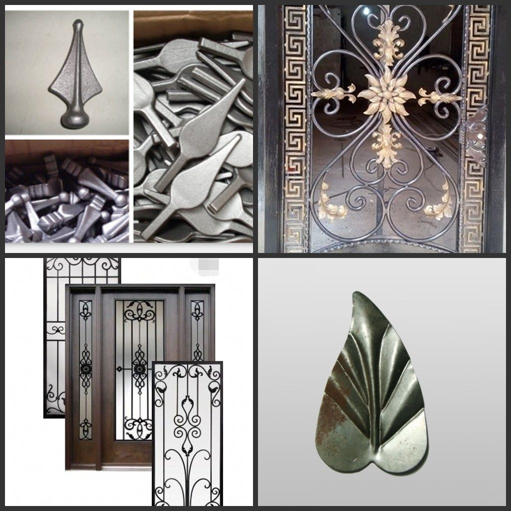 Ornaments Wrought Iron / Cast Iron Parts for Windows and Fence