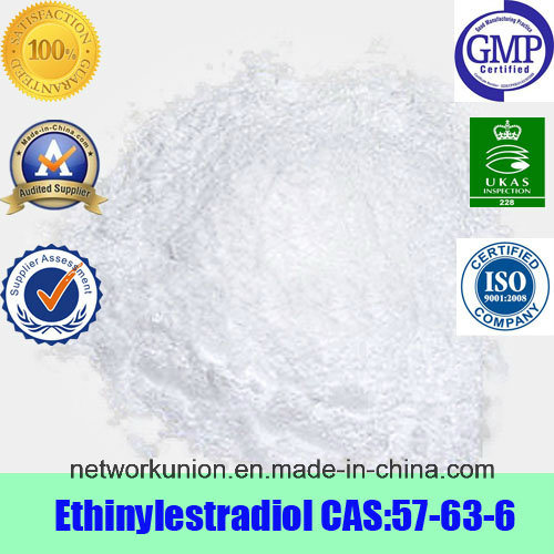 99% Purity Estrogen Steroids Ethynyl Estradiol / Ethinylestradiol (CAS 151-73-5)