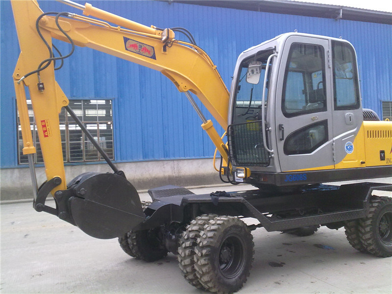 Excavator Excavatorsmini Excavator with Timber Grapjg608s in 6 Ton