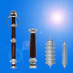 0.25kv~765kv Silicon Rubber (Ceramic) Housed Metal Oxide Gapless Surge Arrester with Kema Type Test
