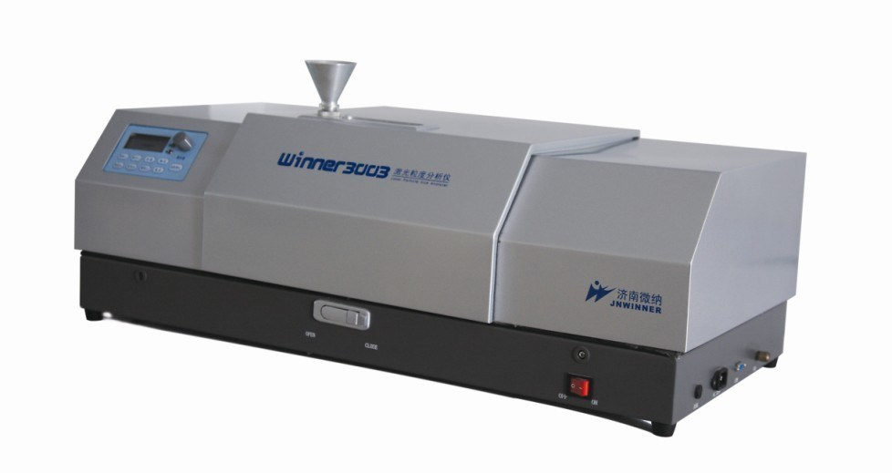 Laser Particle Size Analyzer : China dry powder laser particle size analyzer