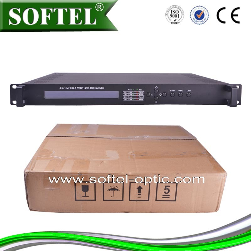 4 in 1 MPEG-4 Avc/H. 264 HDMI Input Digital Encoder