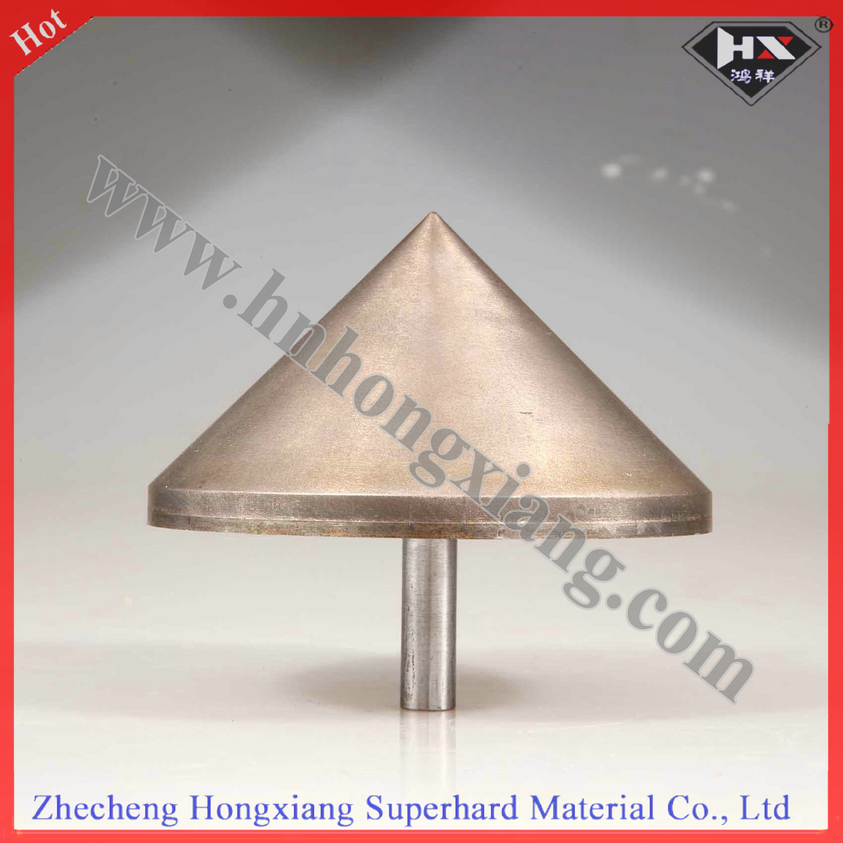 Round Sintered Diamond Drill Bit for Glass Countersink