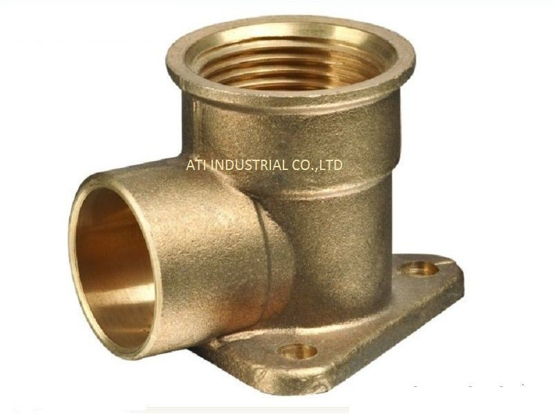 Bronze Pump Forging Machined Part
