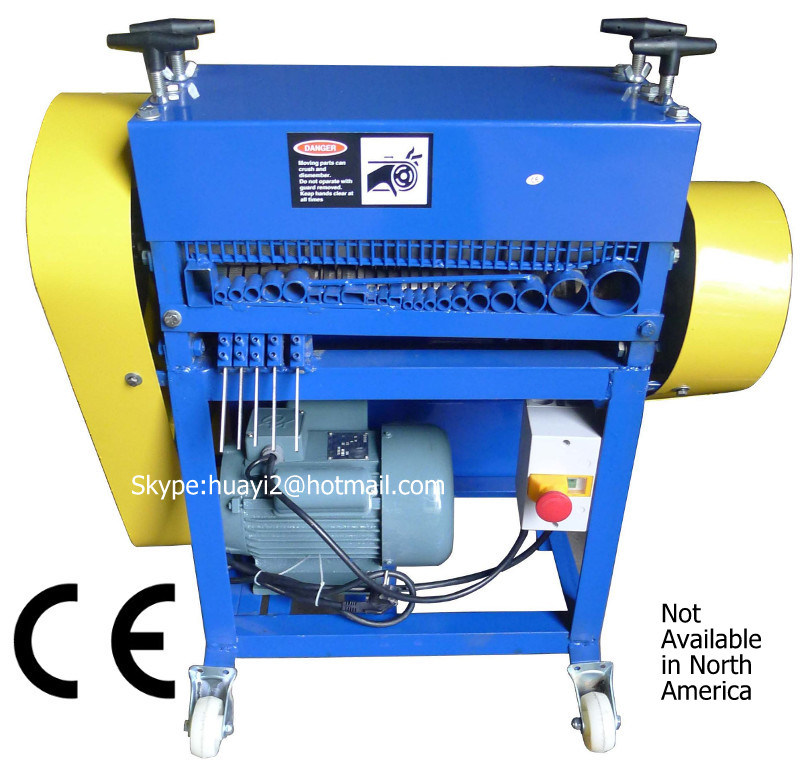 Scrap Wire Stripping Machine (Dia. 2-45mm cables, Patent No. 201120531538)