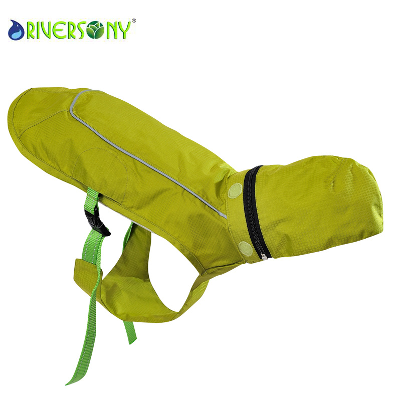 Dog Pet Outdoor Waterproof & Breathable Jacket with Hood