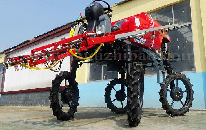 Aidi Brand 4WD Hst Farm Mist Self-Propelled Boom Sprayer