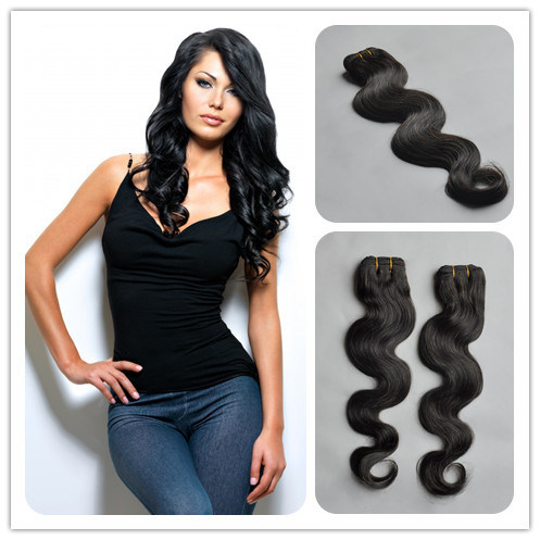 Factory Price Remy Virgin Brazilian Human Hair Extensions