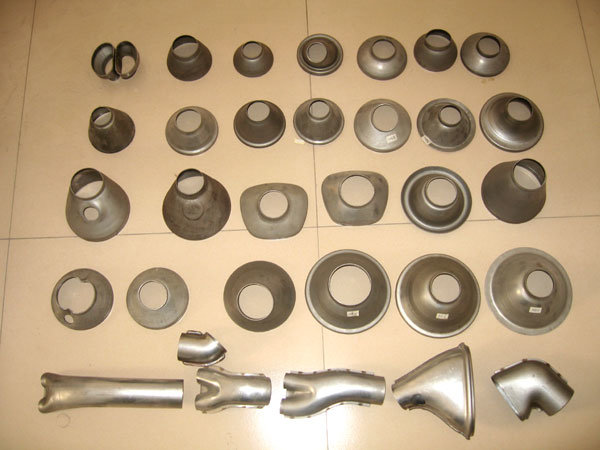 Exhaust Componets Pressings Catalyst Cones