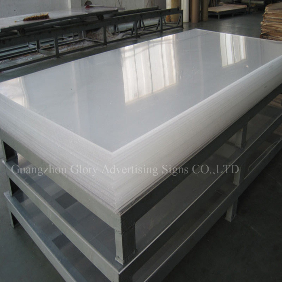 Colored cast acrylic sheet - Plastic Board Pmma Transparent Cast Acrylic Sheet For Led Sign