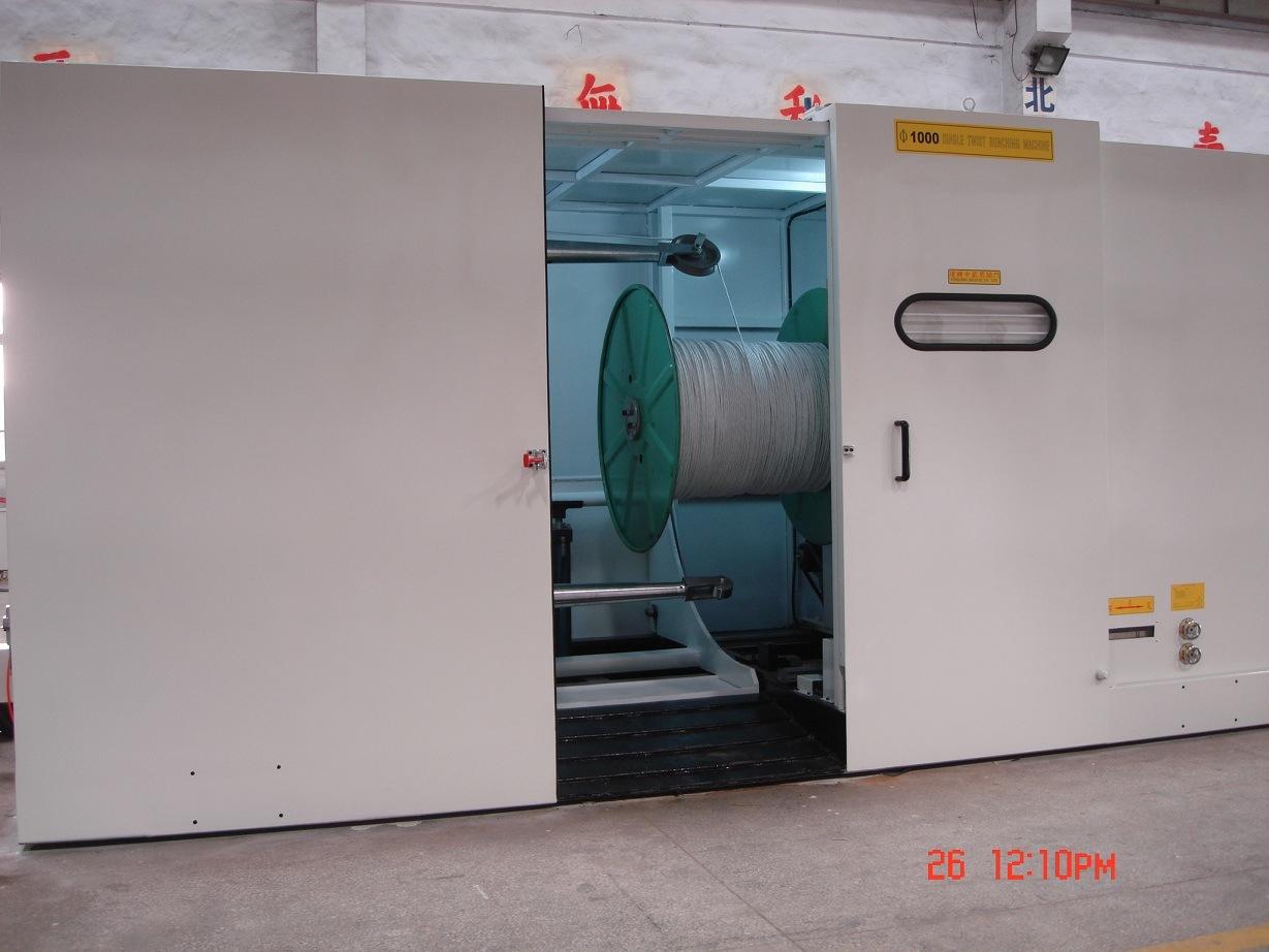 Single Twisting Machine with Capstan Inbuilt