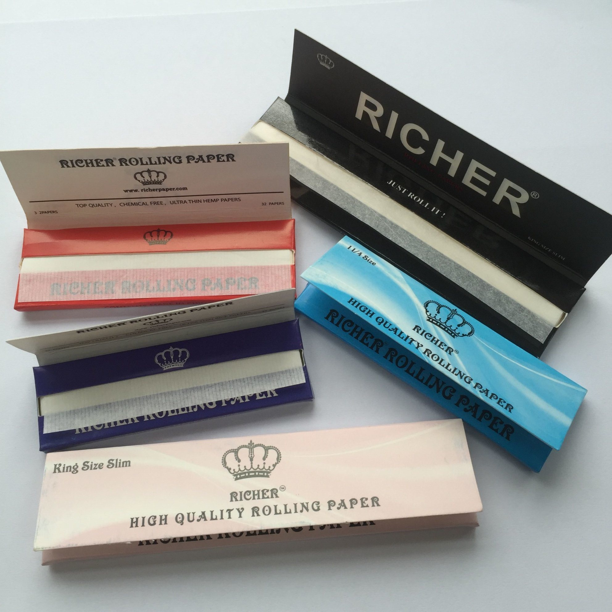 18g Hand Rolling Paper OEM Accept