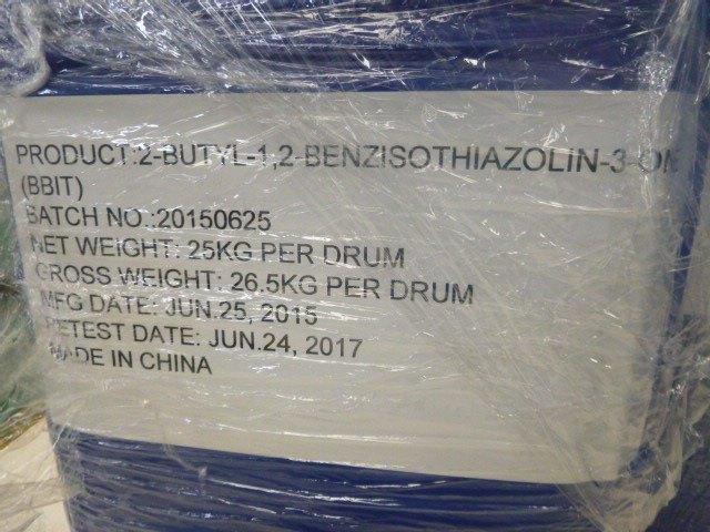 Biocide 2-Butyl-1, 2-Benzisothiazolin-3-One Bbit CAS 4299-07-4