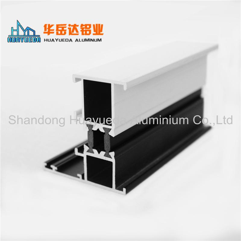 Heat Insulation Bridge System Powder Coated Aluminium