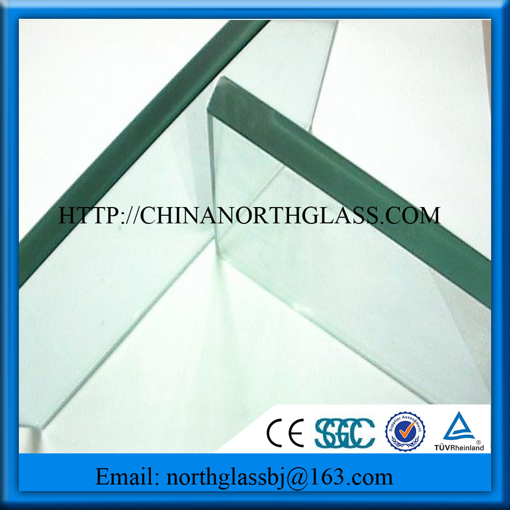 Curve, Flat Shape and Tempered Glass Type 15mm Tempered Glass