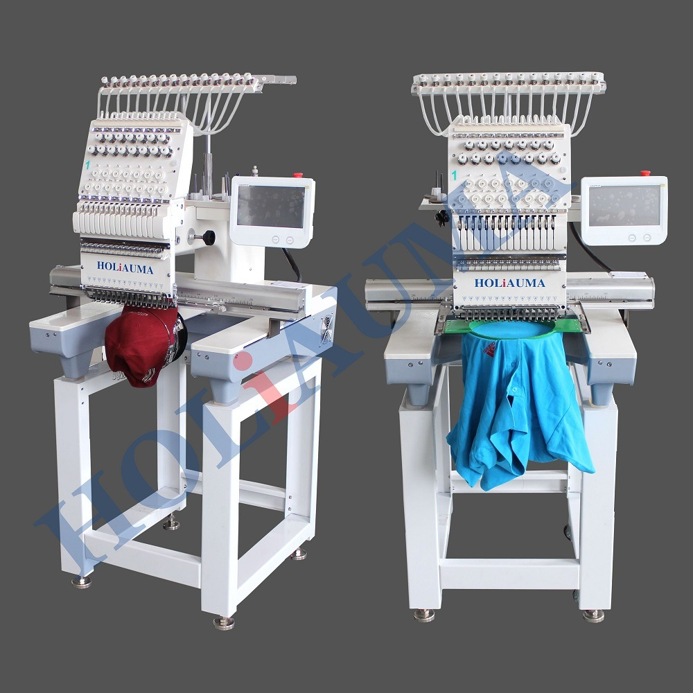 China Newest Holiauma Single Head 15 Needles Computer Embroidery Machine Price