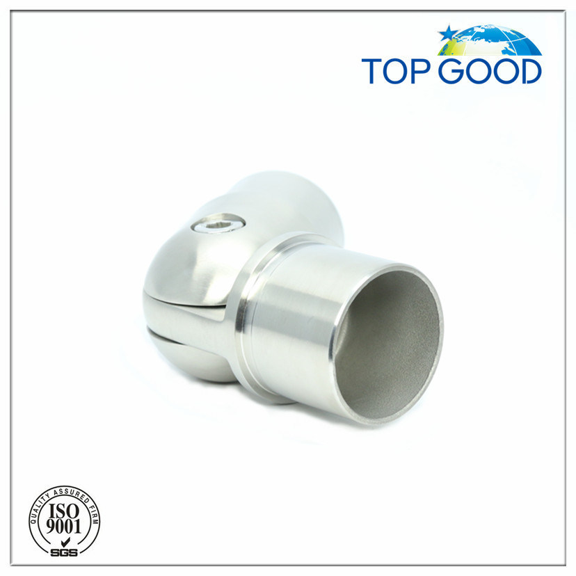 Stainless Steel with Joint  Adjustable Tube Connector (52027)