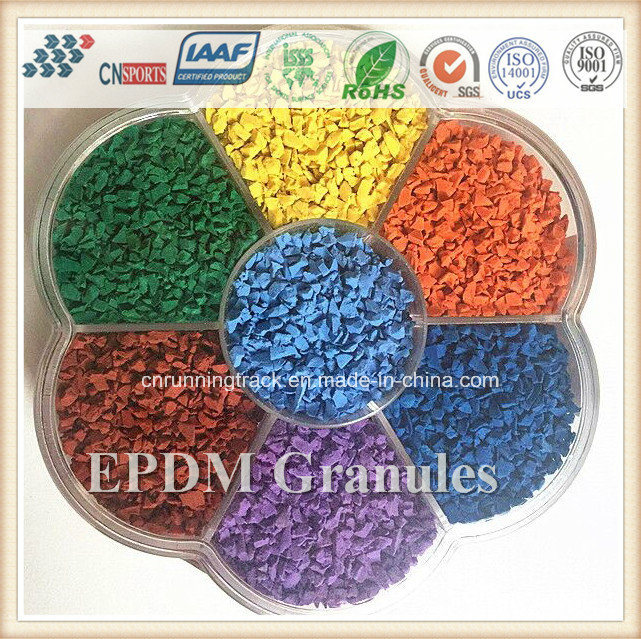 EPDM Rubber Granule for Plastic Running Track, Artificial Grass, Runway