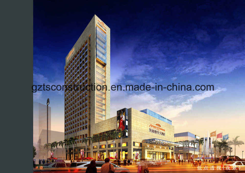 Aluminum Curtain Wall for Building, Office Building or Shopping Building