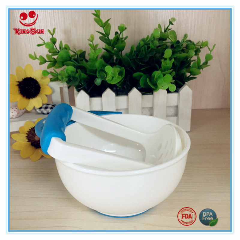 Food Grade Baby Feeding Bowl with Grinding Rod