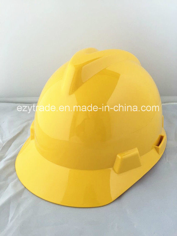 Ce Standard 4point Construction Worker Head Protection Safety Helmet