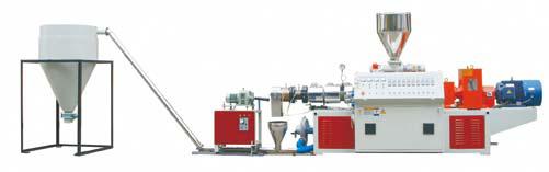 PVC Pelletizing Production Line (HOT-CUTTING)