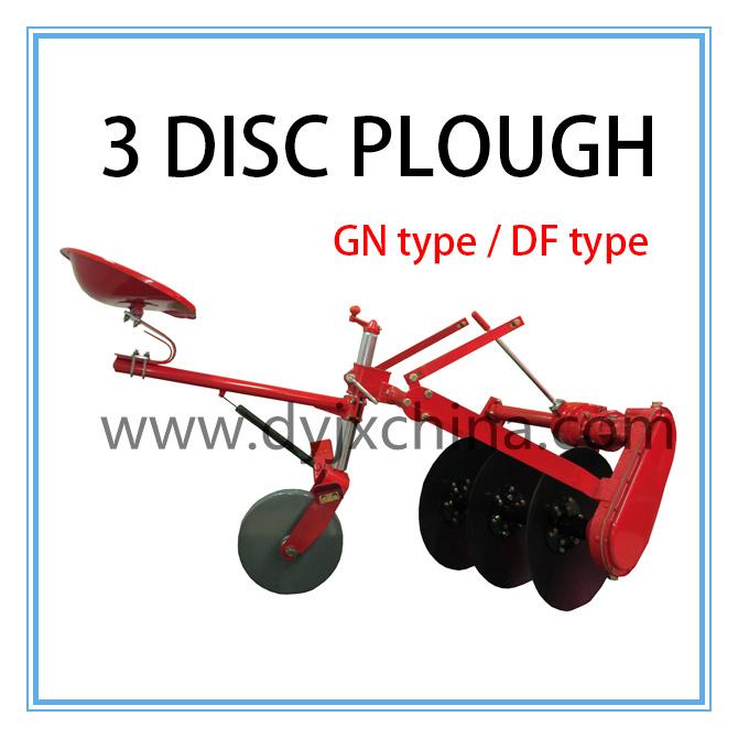 Cheap! ! ! 1lyq-320 Driven Three Disc Plough