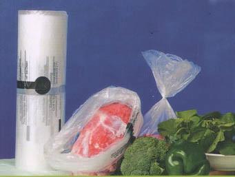 HDPE Transparent Printed Plastic Food Bag